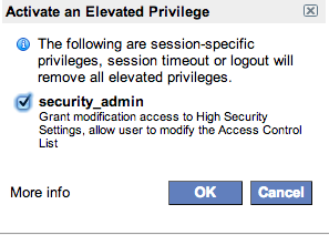 Elevating Privileges Dialogue